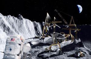 Billedmanipulasjon for månen